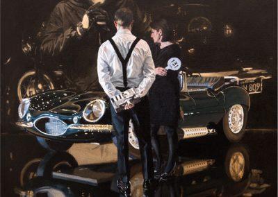 Car Auction Jaguar XKSS - Mounted £475