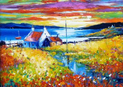Changing machair, Isle of Lewis Framed Price £995