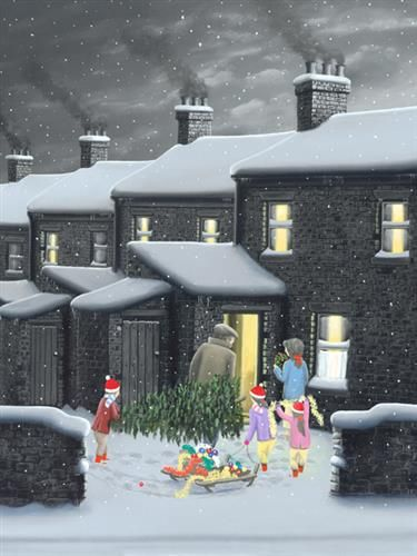 Daddy's Little Festive Helpers Framed £348