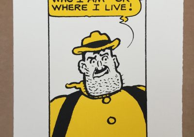 Desperate Dan says I Can't Remember Who I Am