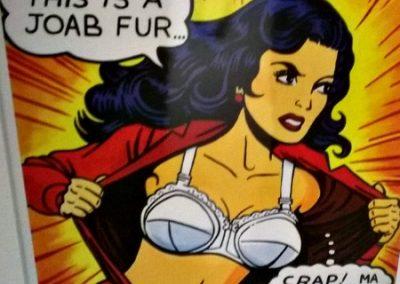 Wonderwoman! Limited Edition Print Framed £90