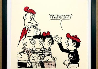 Don't despair, Danny tells Bash Street Kids