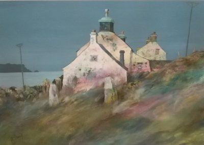 Gillian McDonald Coastal Cottage 1 Limited Edition Print Mounted Price £145