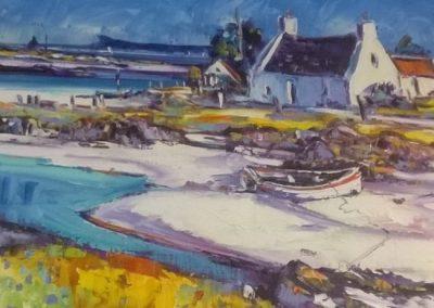 Jean Feeney Arisaig Shore Framed Price £750