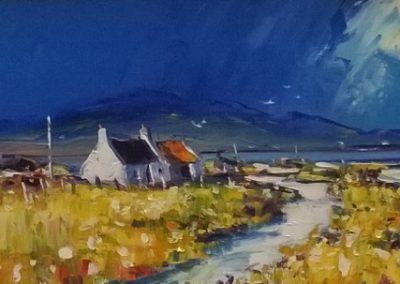 Jean Feeney Stormlight Kilchoan Framed Price £595