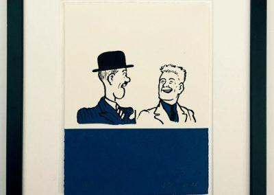 Joe and Hen Broon framed £90