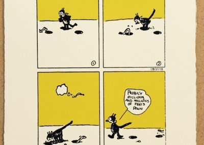 Krazy Kat and a worm