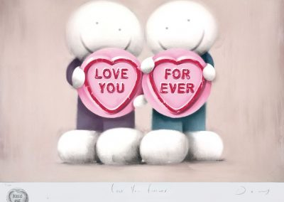 Love You Forever (Remarque) Limited Edition Framed £1495