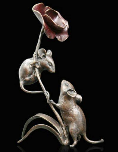 Mice with poppy £145