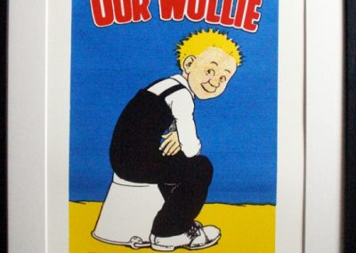 Oor Wullie front cover 1968 framed £195