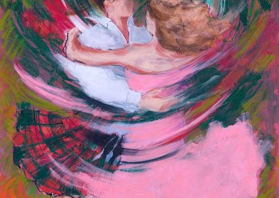 Pink Fizz - Framed Price £152