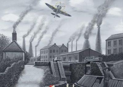 Spitfire 12 'O Clock High