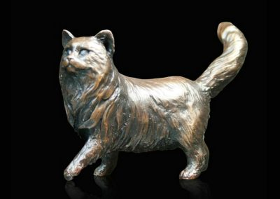 Small Cat Standing - Long Haired £95
