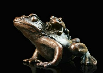 Small Frog with Baby £110