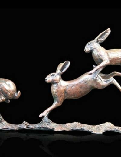 Small Hares Running £285