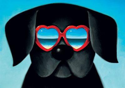 Sun Sea And Sunglasses I Limited Edition Framed £325