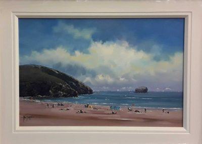 Allan Morgan Gull Rock Framed Price £732.00 Sale Price £549