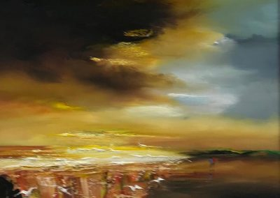 Lillias Blackie Evening Approaches Framed Price £585