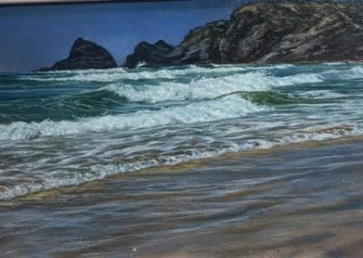 Linares Incoming Tide Framed Price £320 (Original Oil Painting)