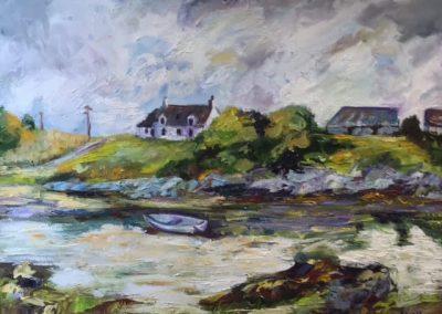 Maureen Mailey Gorten Sands Arisaig Framed Price £470 (Original Oil)