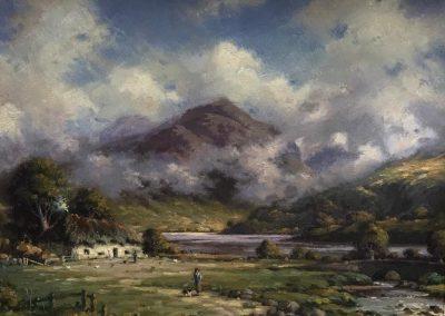 Richard Forsyth Ben Lomond Framed Price £850